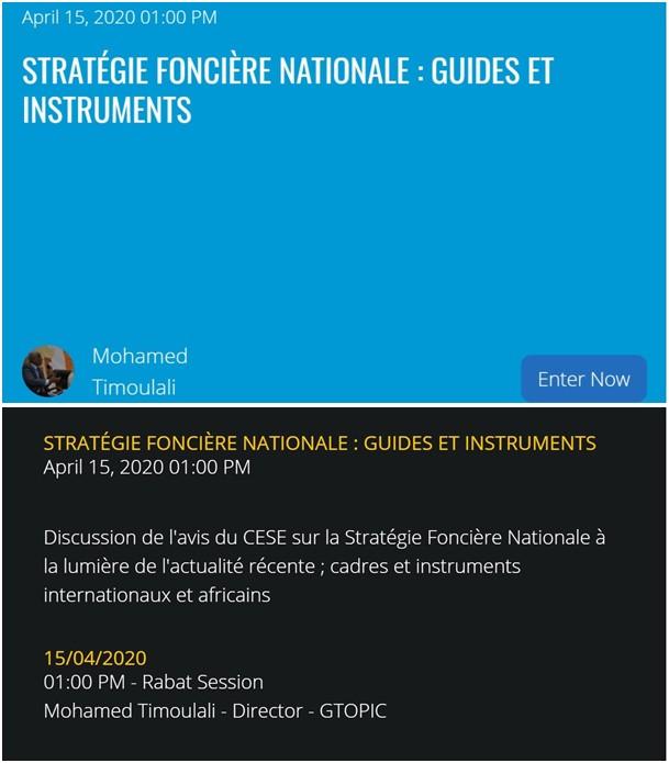 La Stratégie Foncière Nationale : Guides et instruments